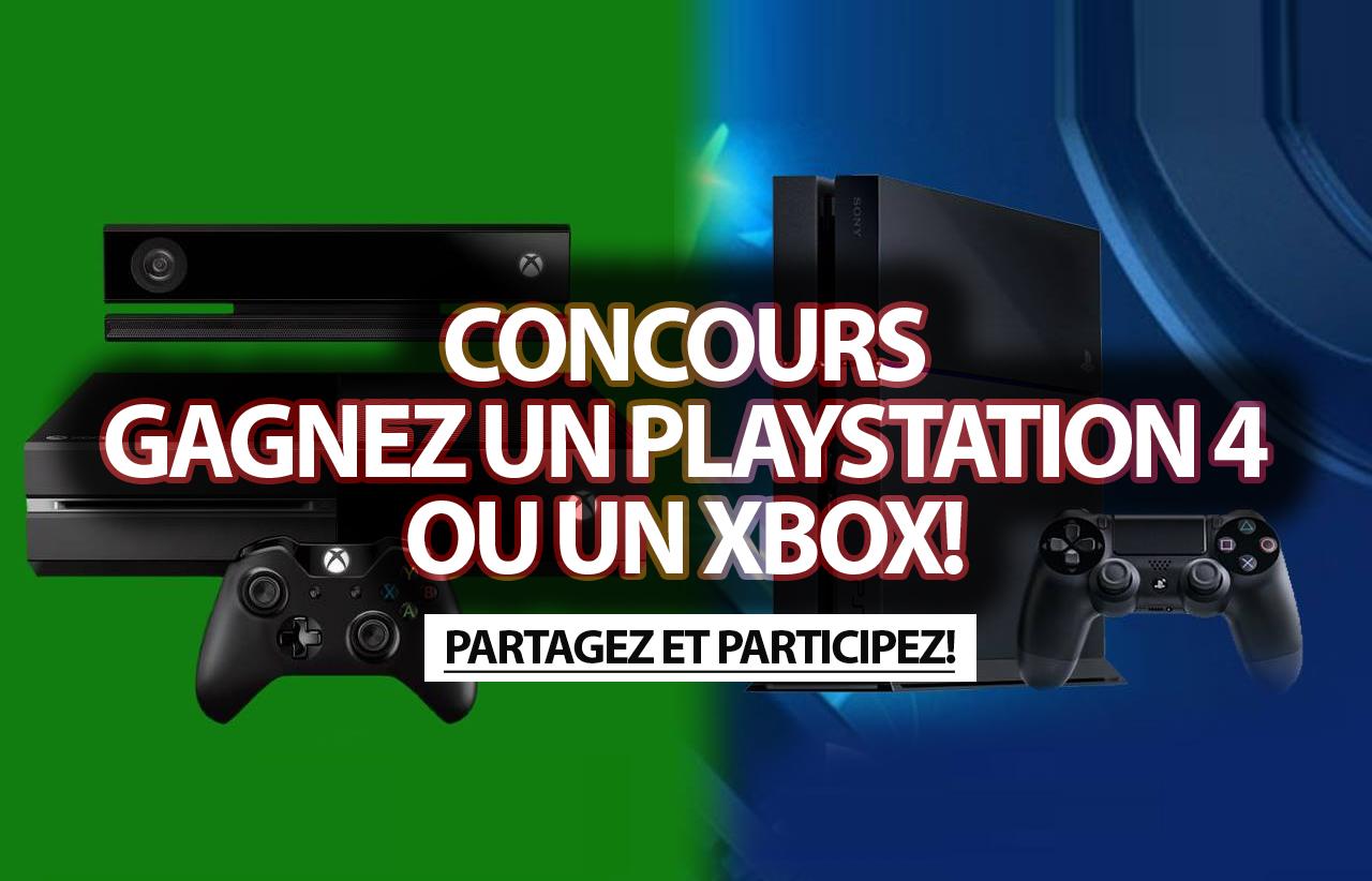 Concours gagnez un playstation 4 ou un xbox - Quelle console choisir ps ou xbox one ...