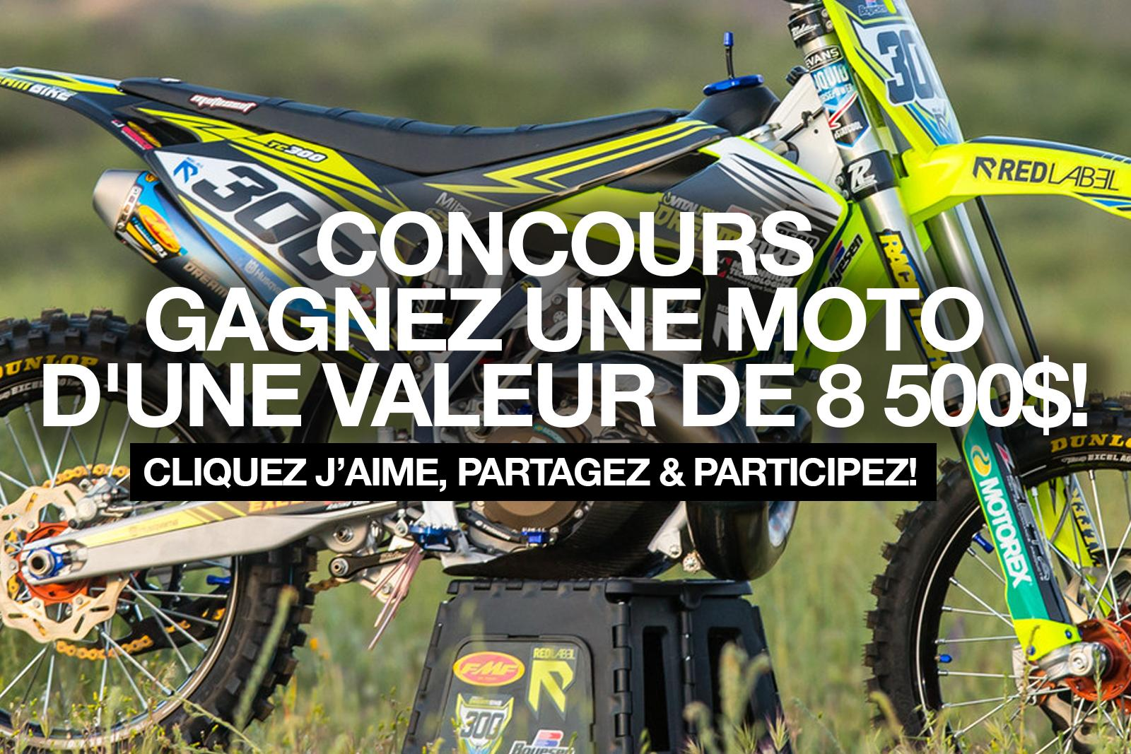 concours gagner moto