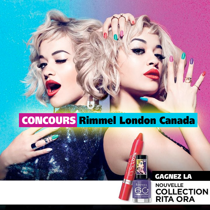 Concours Rimmel London Canada