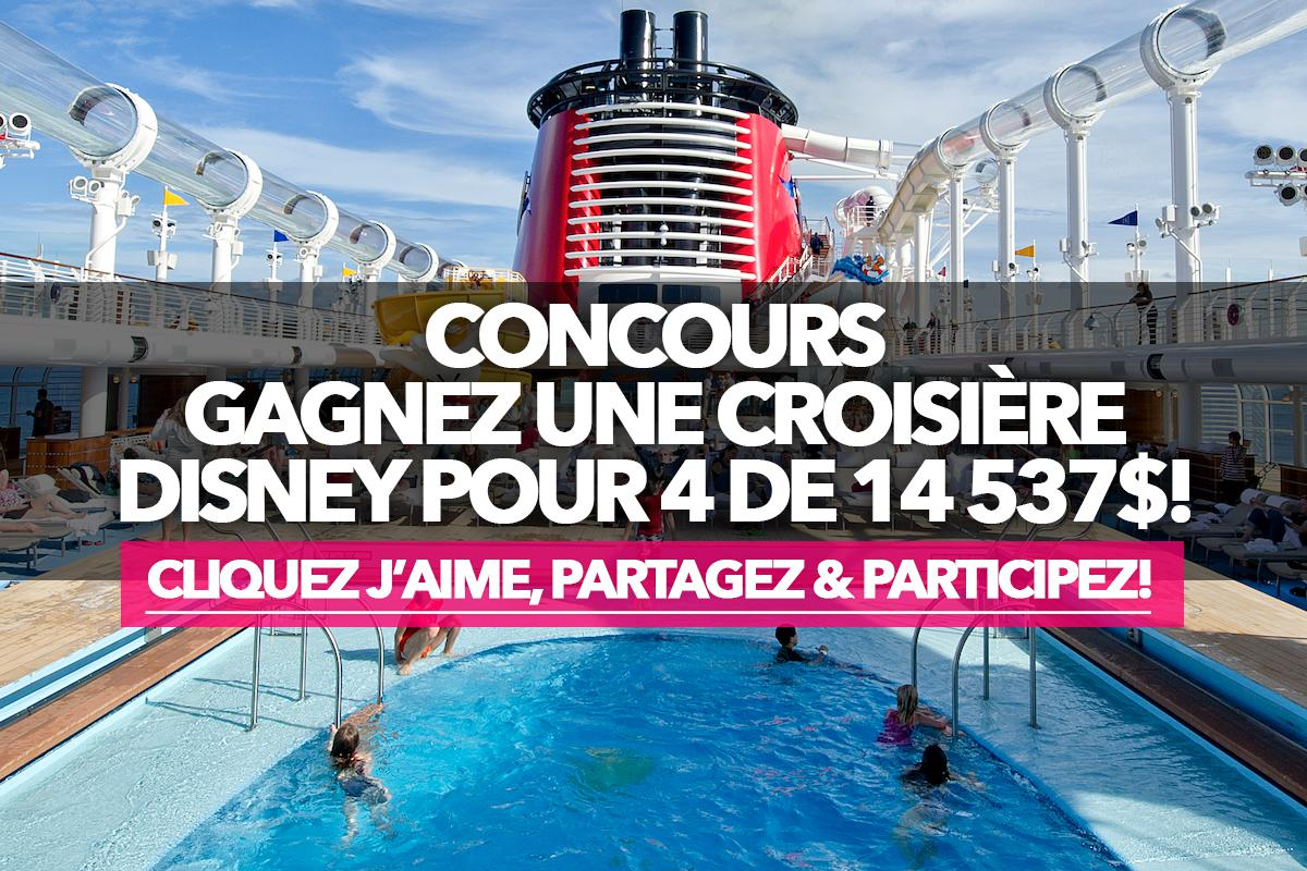Contest: Enter to win a $14,500 Disney cruise for 4!