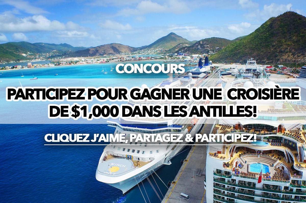 Contest: Enter for a chance to win a $1,000 cruise to the Caribbean island of St Maarten