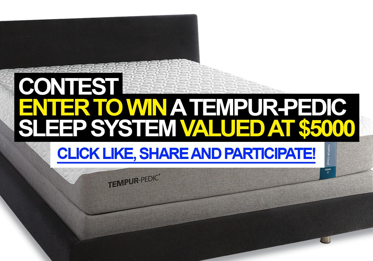 Tempurpedic Sweepstakes 28 Images Enter To Win A
