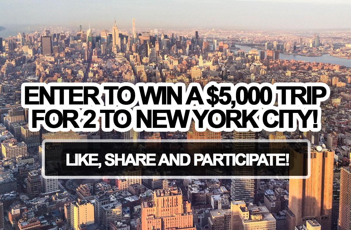Do You Want To Win A New York City Trip