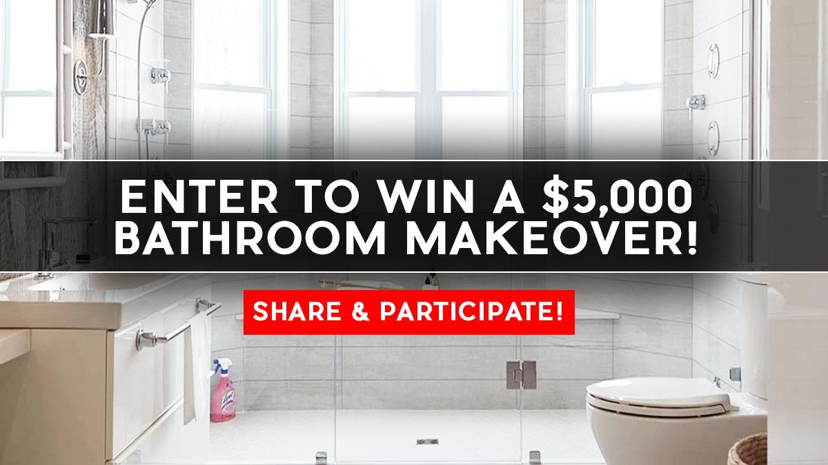 win bathroom makeover contest win a 5 000 bathroom makeover 15198
