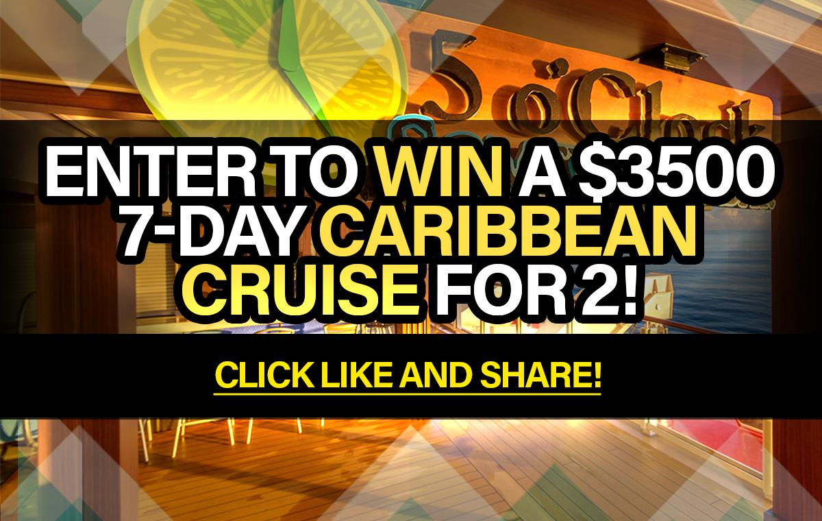 win a sweepstakes sweepstakes enter to win a 3500 7 day caribbean cruise 3801