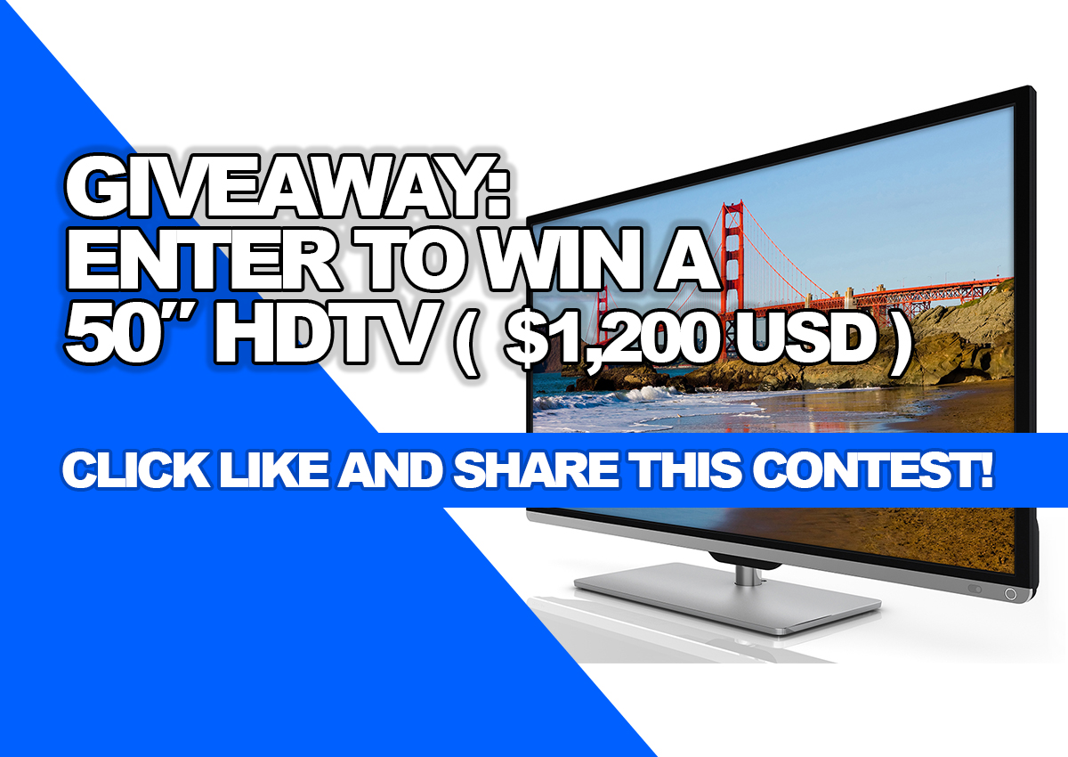 Enter to win a tv - Crabtree comments