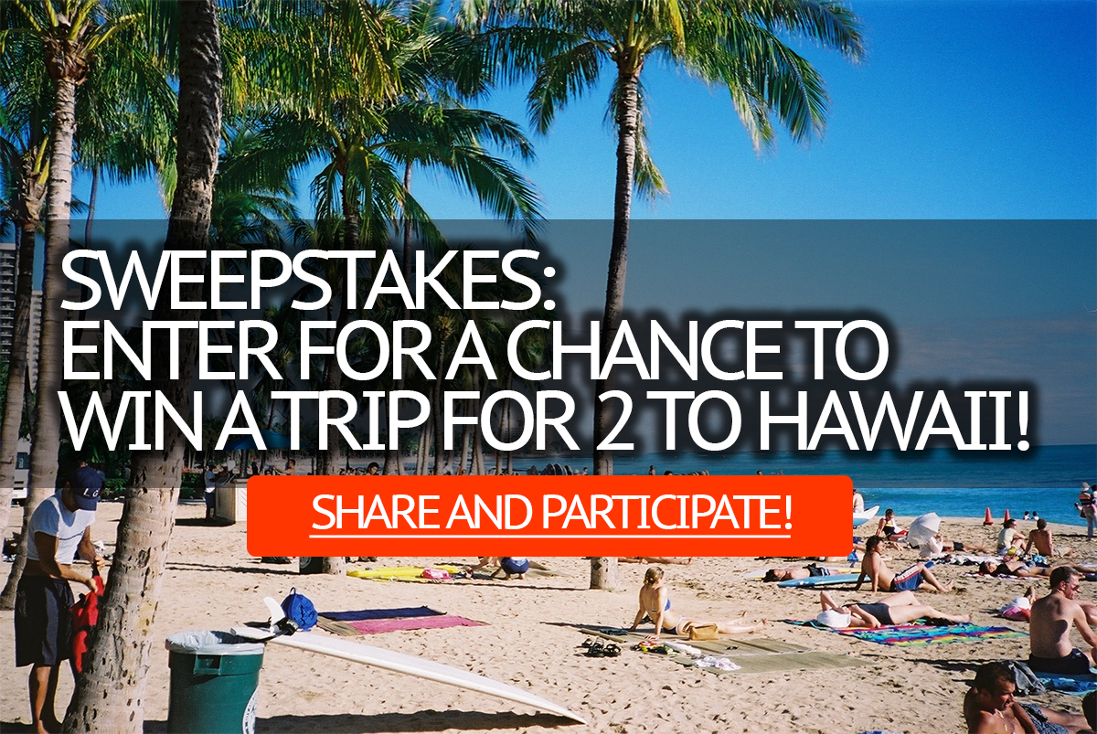 win a trip to hawaii | Euro Palace Casino Blog